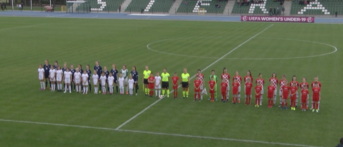 Mecz Szkocja-Chorwacja