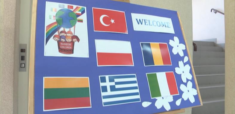 Projekt Erasmus w Szkole Podstawowej Gminy Sieradz