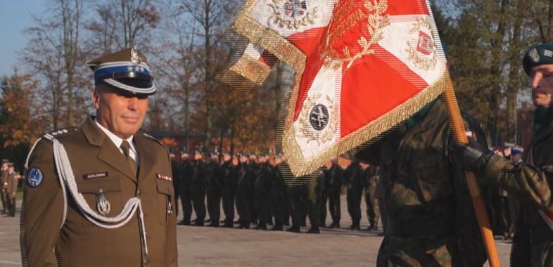 Przekazanie obowiązków dowódcy 15 SBWD