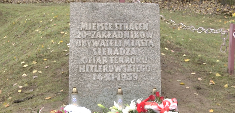 80. rocznica rozstrzelania Sieradzkich Zakładników