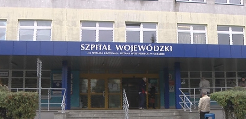 Atak napastnika w sieradzkim szpitalu