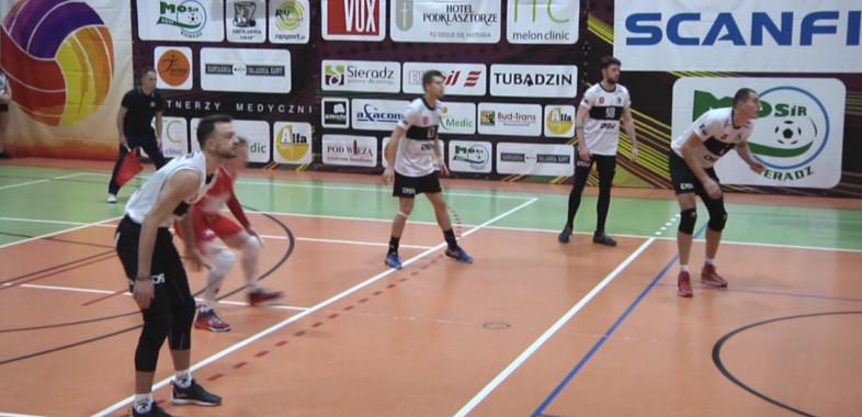 Mecz Tubądzin Volley MOSiR Sieradz