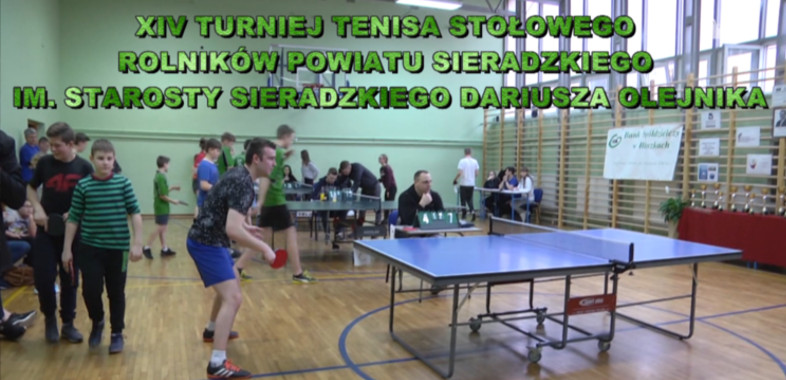 Zapowiedź turnieju Tenisa stołowego w Błaszkach