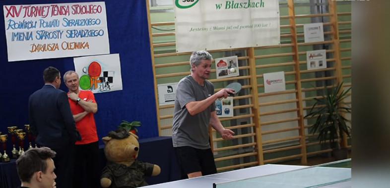 Turniej Tenisa stołowego w Błaszkach