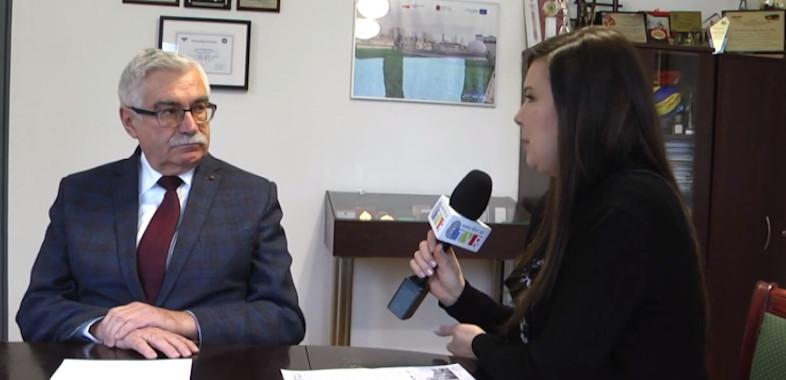 Rozmowa z burmistrzem Łasku Gabrielem Szkudlarkiem oraz o planowanych inwestycjach