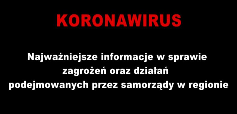 Wypowiedź Wójta Gminy Sieradz na temat zagrożenia koronawirusem
