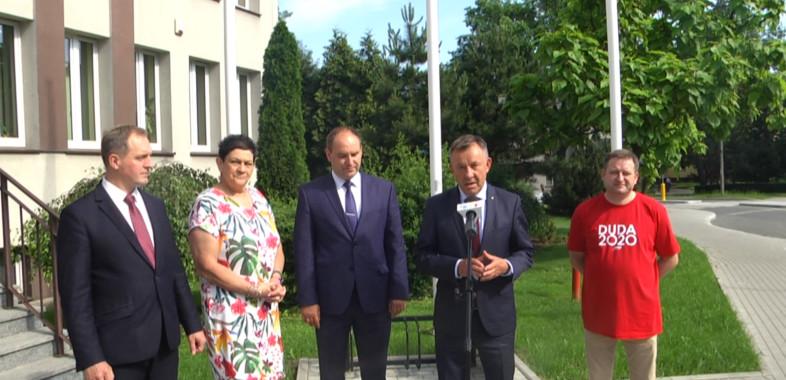 Dofinansowanie z FDS dla Powiatu Łaskiego