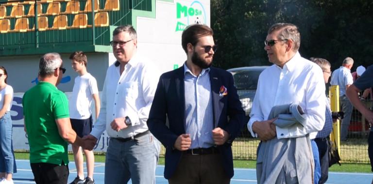 Mecz Zarządu Warty Sieradz kontra sponsorzy oraz wsparcie finansowe dla klubu od Grupy Tubądzin