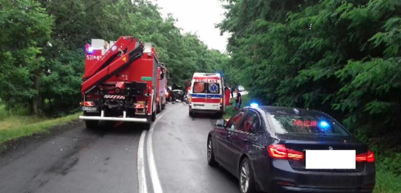 Tragiczny wypadek na trasie Sieradz – Burzenin