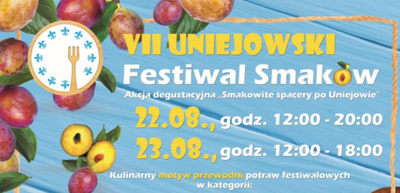 VII Uniejowski Festiwal Smaków – ogłoszenie