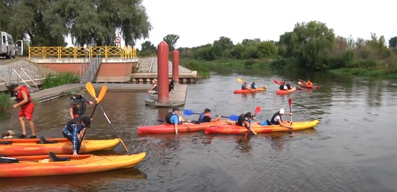 Spływ kajakowy na rzece Warcie