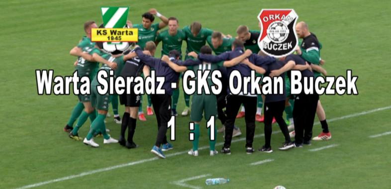 Mecz Warta Sieradz – Orkan Buczek