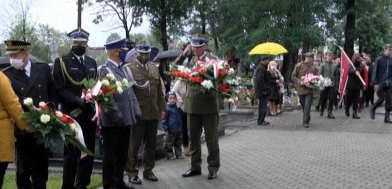 81. rocznica wybuchu II Wojny Światowej w Sieradzu
