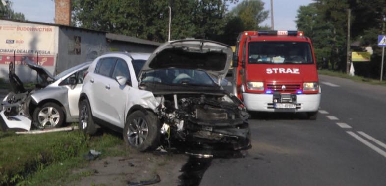 Wypadek w Strumianach