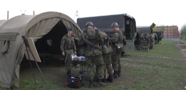 Szkolenie żołnierzy w 15 SBWD