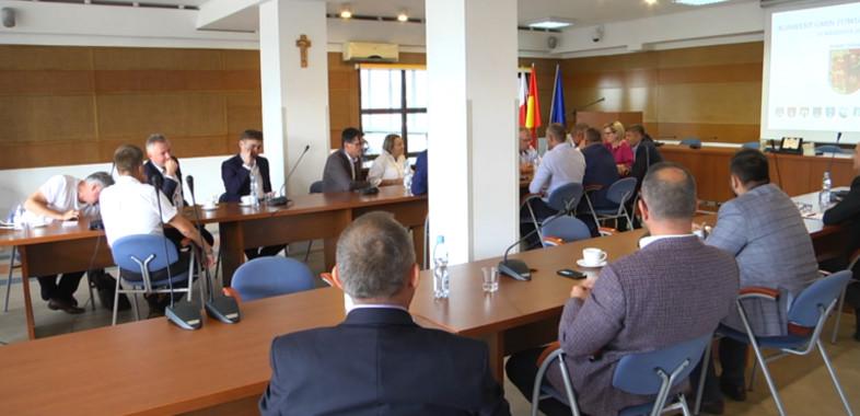 Konwent Gmin Powiatu Sieradzkiego na temat transportu publicznego