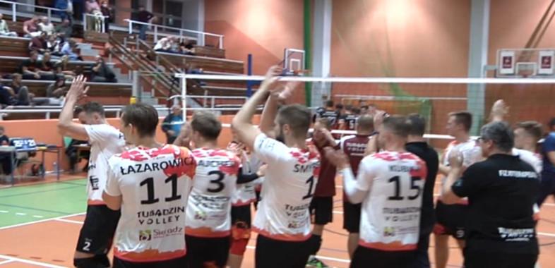 Pierwszy ligowy mecz Tubądzina Volley MOSiR Sieradz