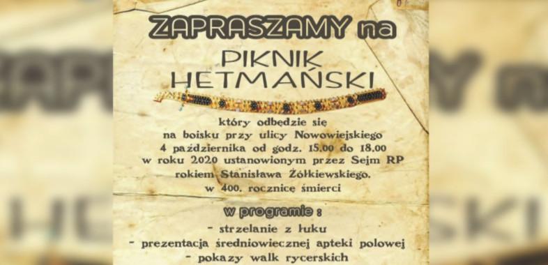 Piknik Hetmański – zaproszenie