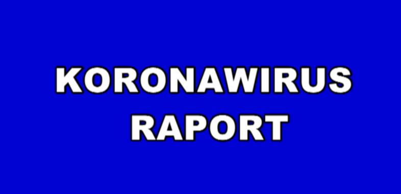 Koronawirus – raport, komentarz Pawła Osiewały