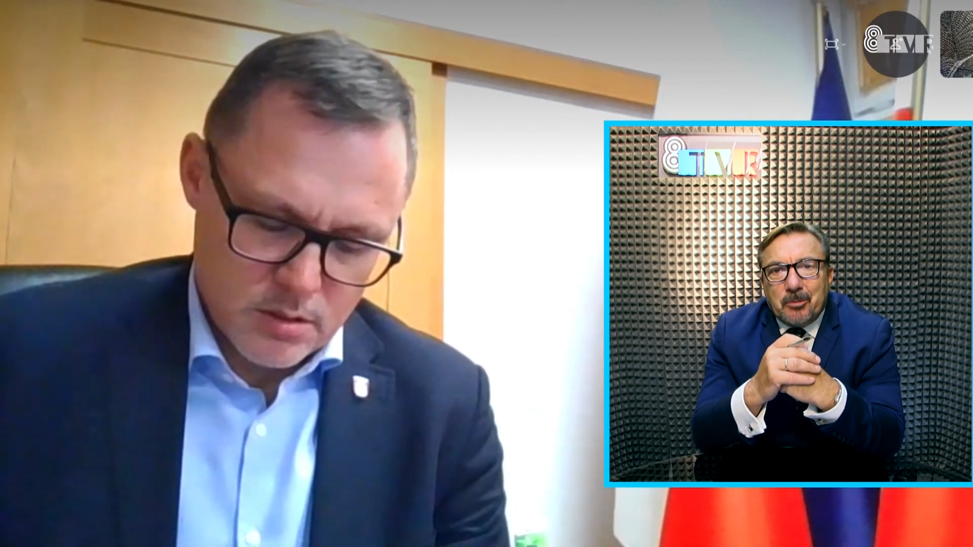 Rozmowa z prezydentem Sieradza – Pawłem Osiewałą