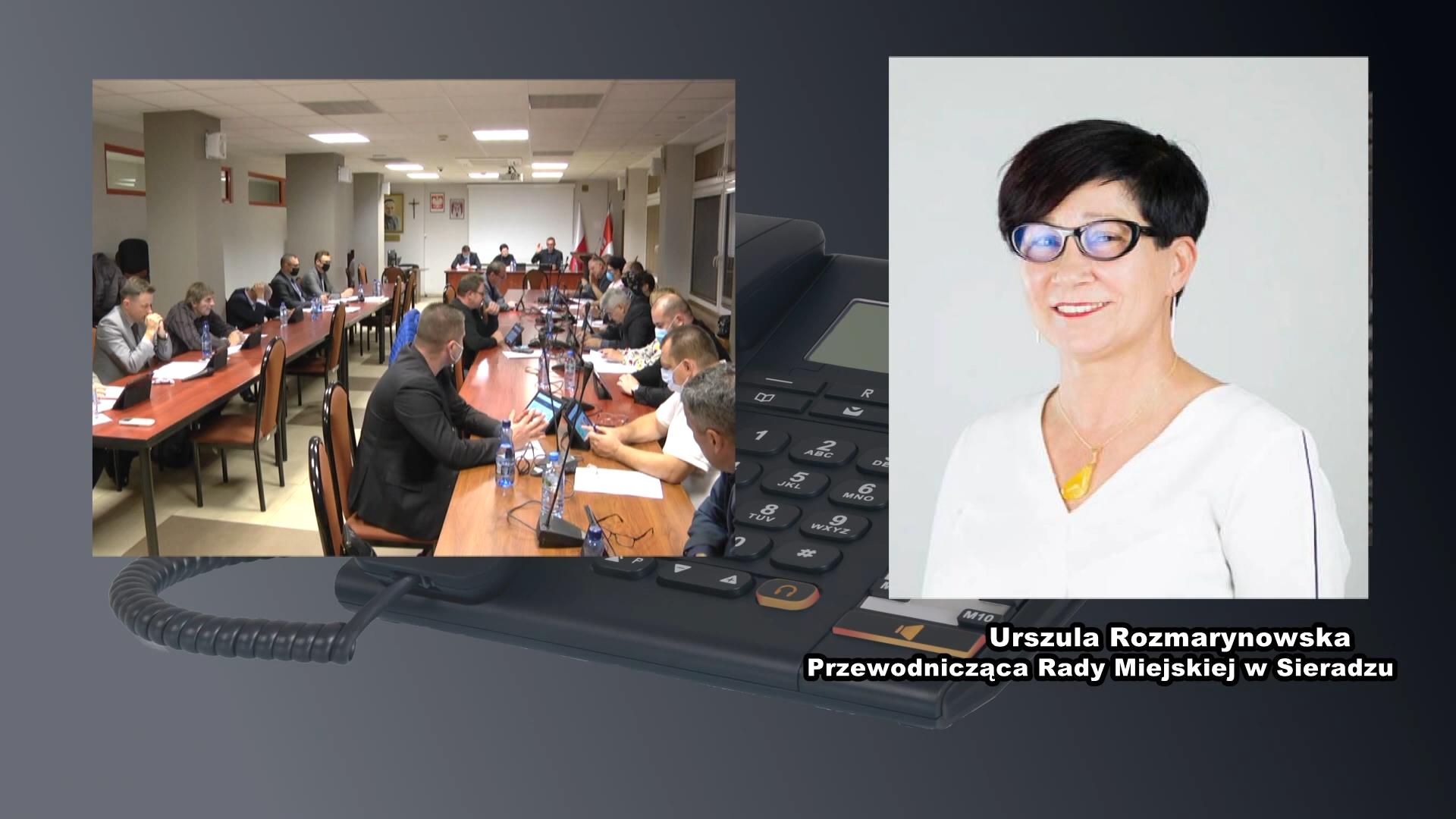 Rozmowa z przewodniczącą Rady Miasta Sieradza – Urszulą Rozmarynowską