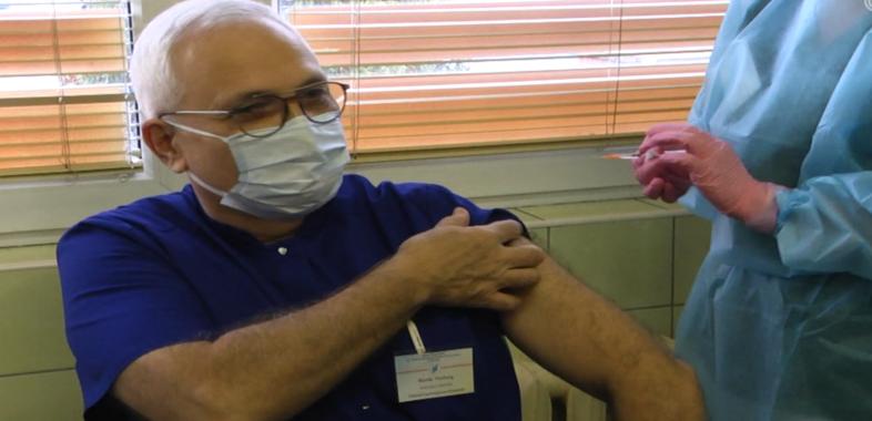 Pierwsze szczepienia na COVID-19 w Sieradzu