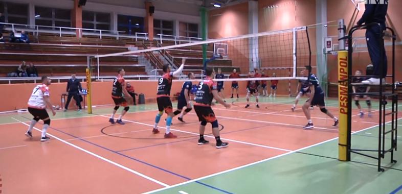 Tubądzin Volley MOSiR Sieradz kontra Lotnik Łęczyca
