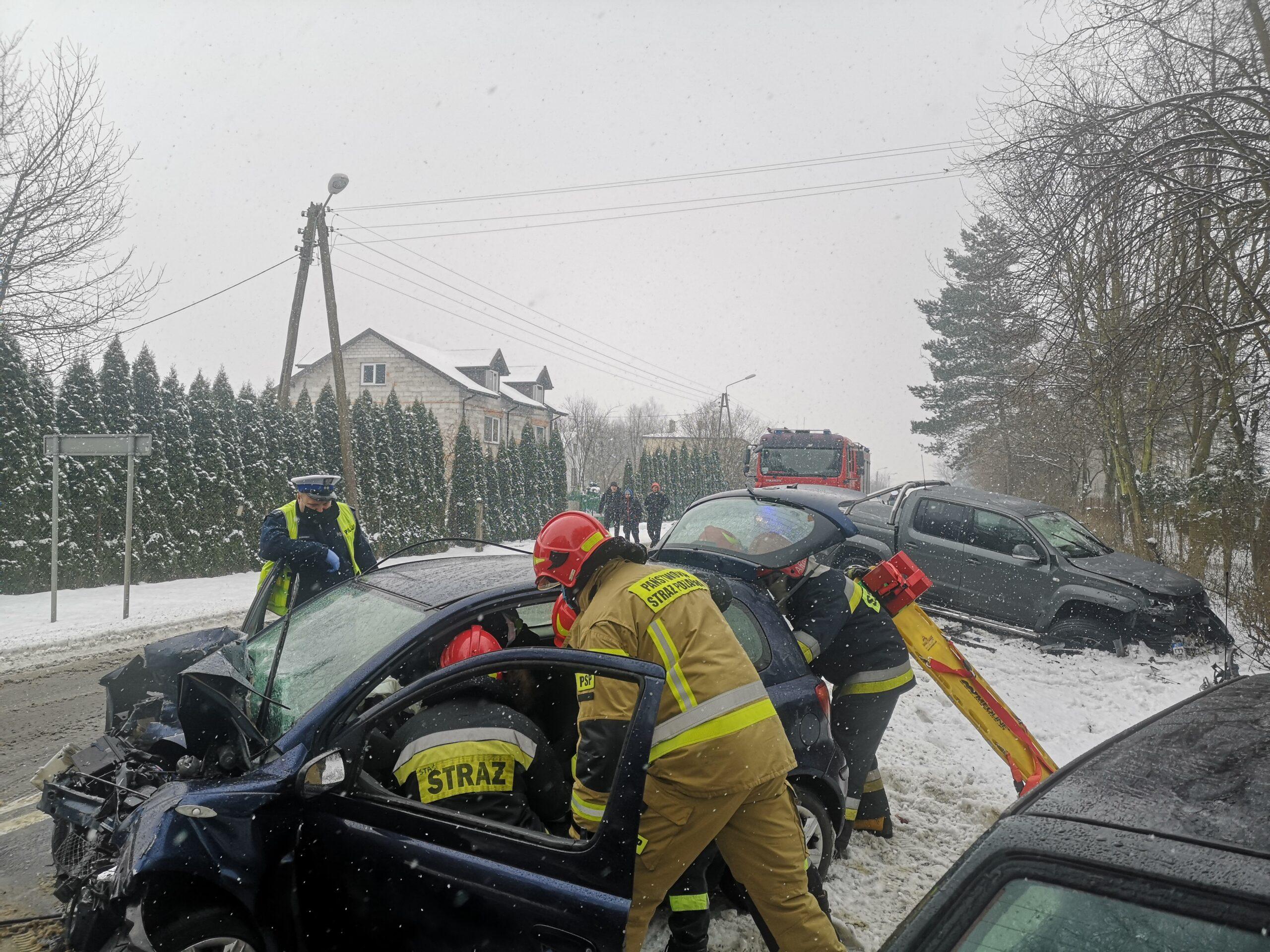 Groźny wypadek w Ulejowie