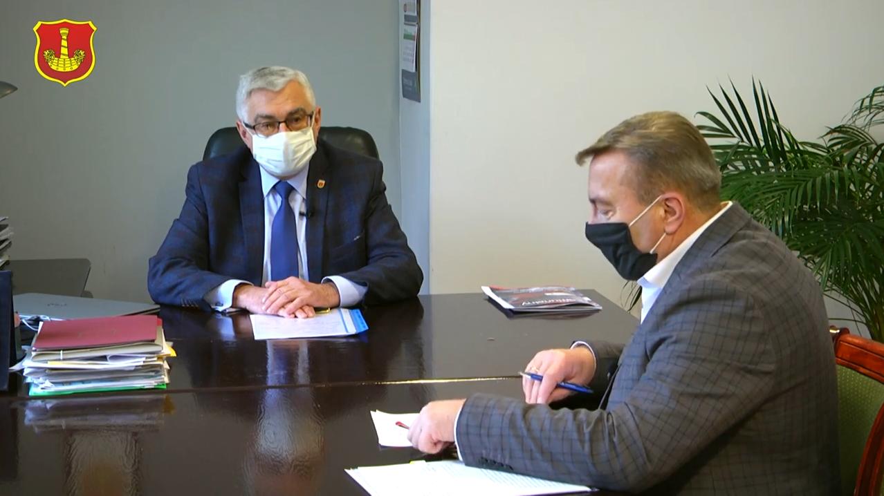 Nasze Sprawy – rozmowa z Burmistrzem Łasku