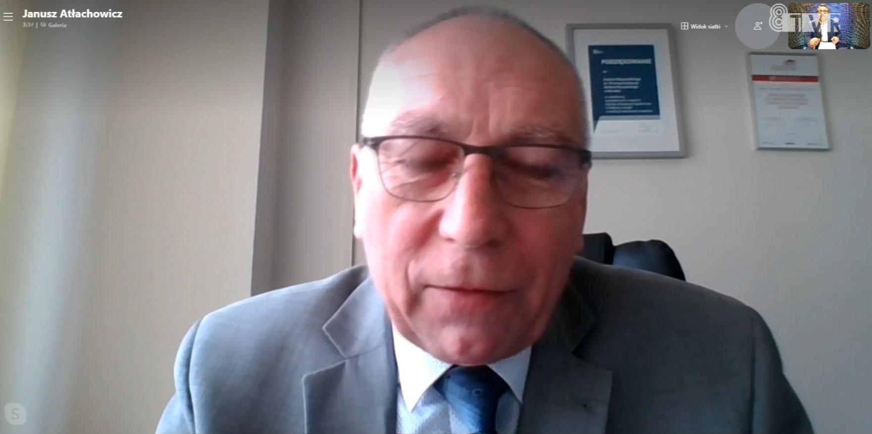 Dyrektor Janusz Atłachowicz o sytuacji w sieradzkim szpitalu