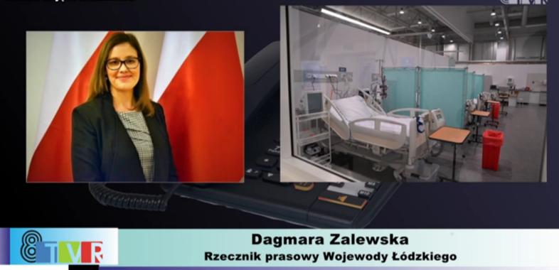 Szpital tymczasowy w Łodzi