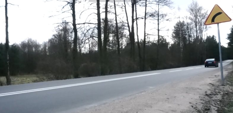 Otwarcie odcinka drogi Burzenin-Szynkielów