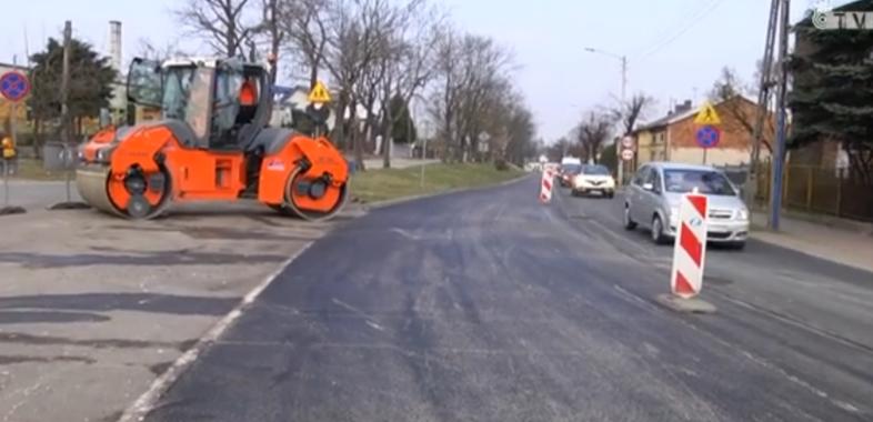 Pozimowe remonty dróg