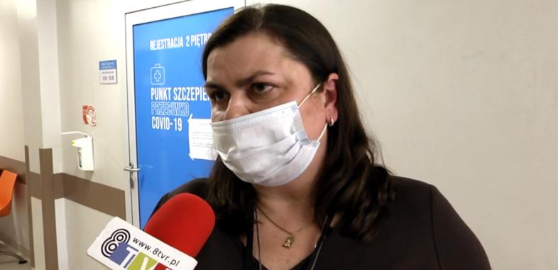 Szczepienia w sieradzkim szpitalu
