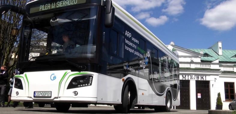 Elektryczny autobus w Sieradzu