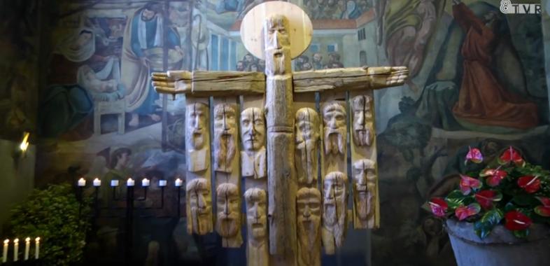 Wyjątkowa rzeźba w Bazylice Mniejszej