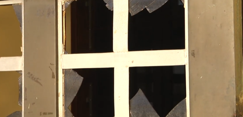 Akt wandalizmu w kościele na Jaworowym