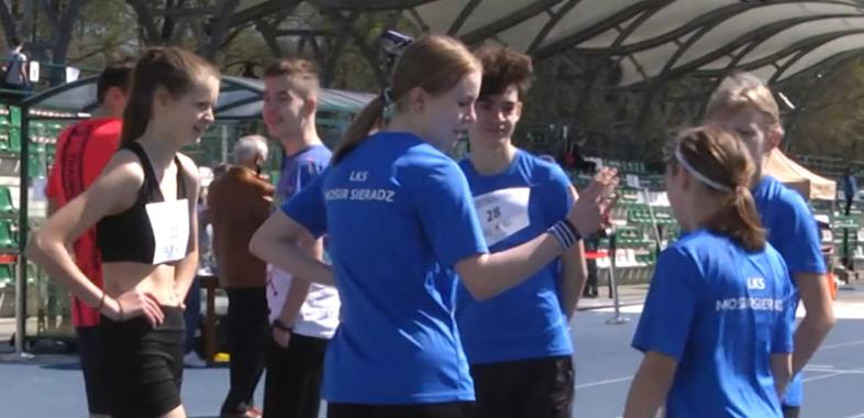 Zawody lekkoatletyczne dla dzieci i młodzieży