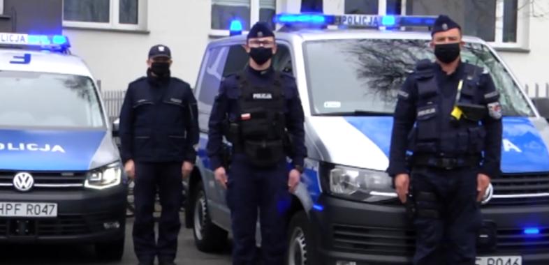 Policjanci oddali hołd