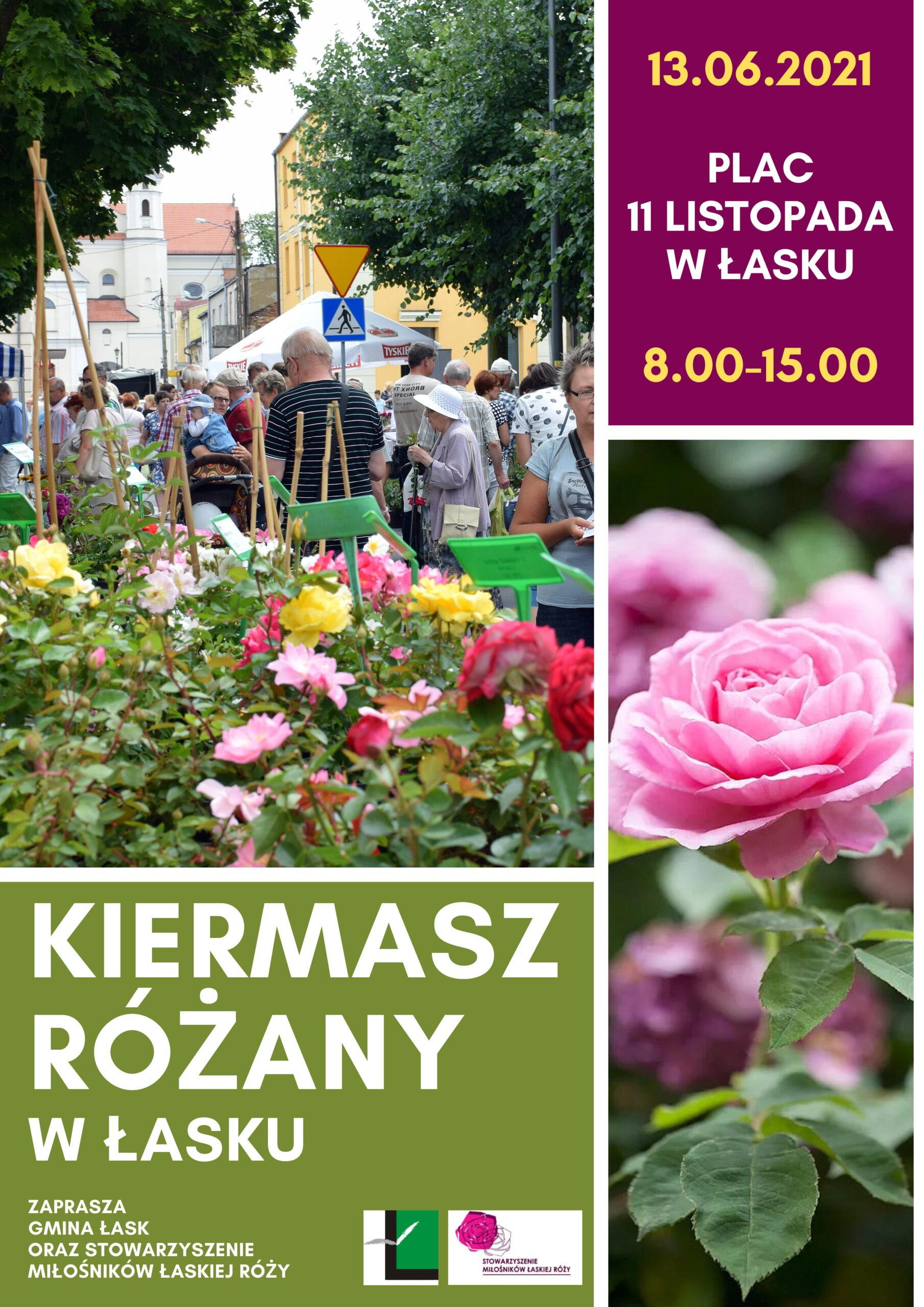 Kiermasz Różany w Łasku – ogłoszenie