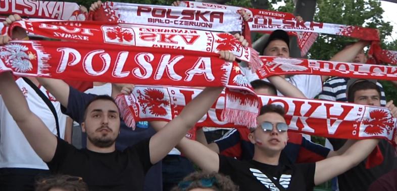Polska – Hiszpania w sieradzkiej strefie kibica