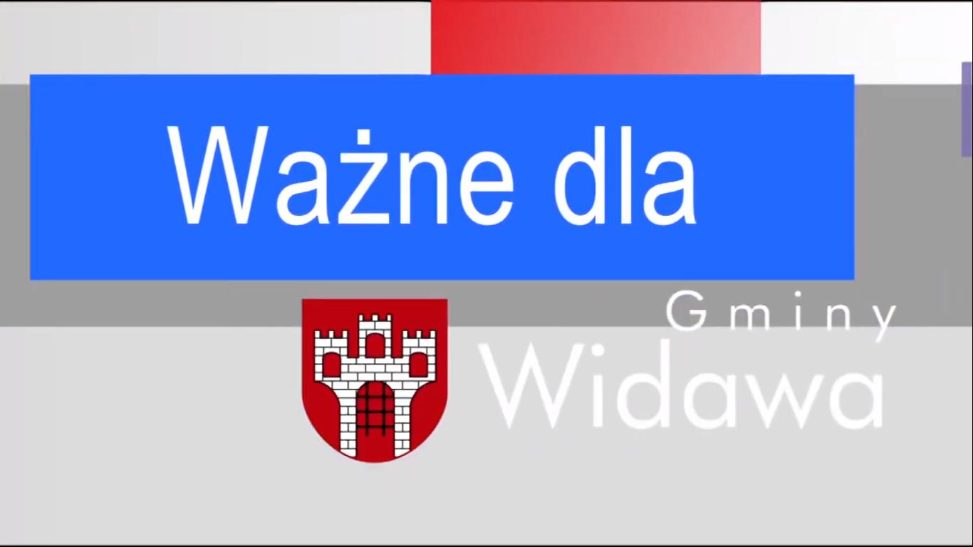 Ważne dla Gminy Widawa – otwarcie drogi w Chociwiu (transkrypcja)
