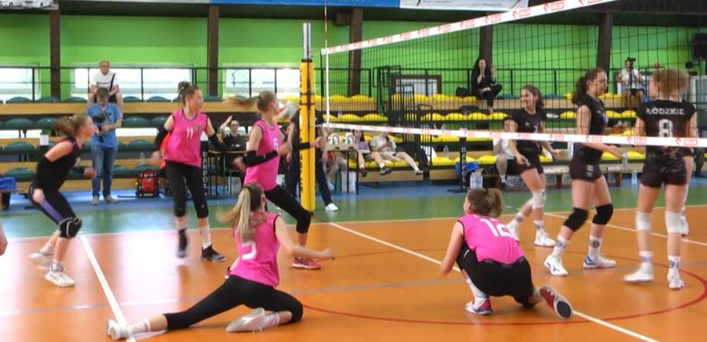 Ogólnopolska Olimpiada Młodzieży – w siatkówce halowej dziewcząt w Łasku