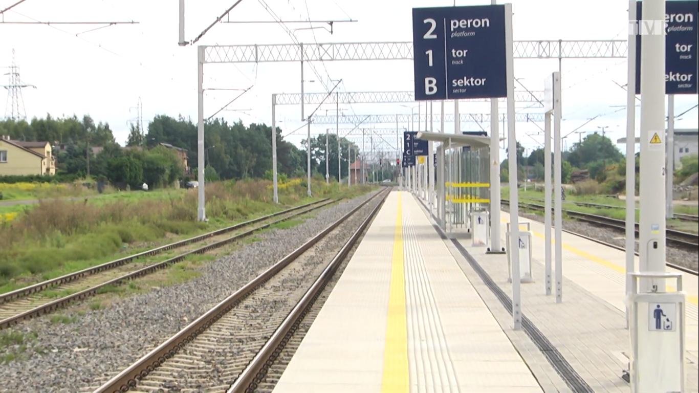 Stacja w Łasku zmieniła oblicze
