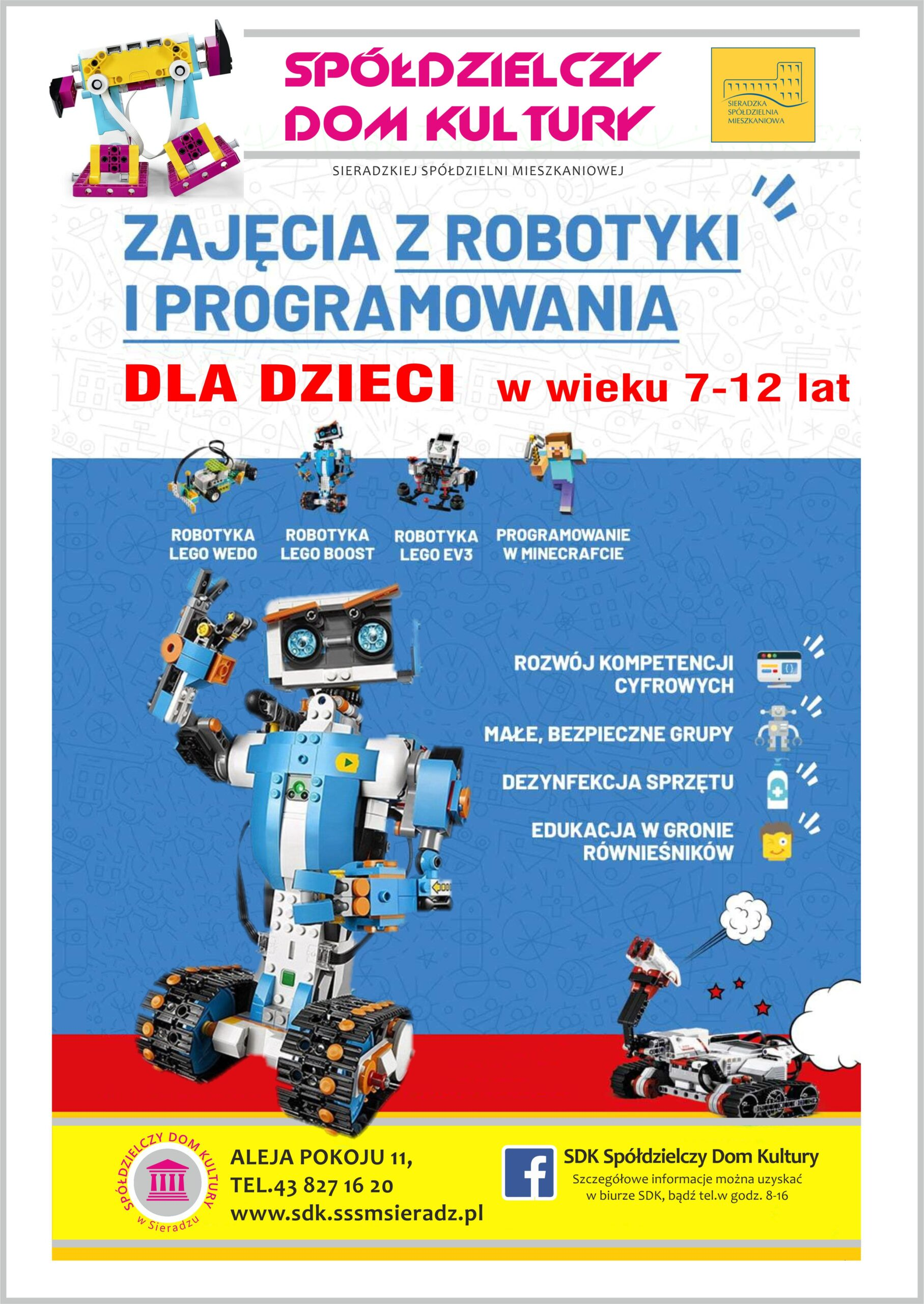 Zajęcia SDK z robotyki i programowania dla najmłodszych