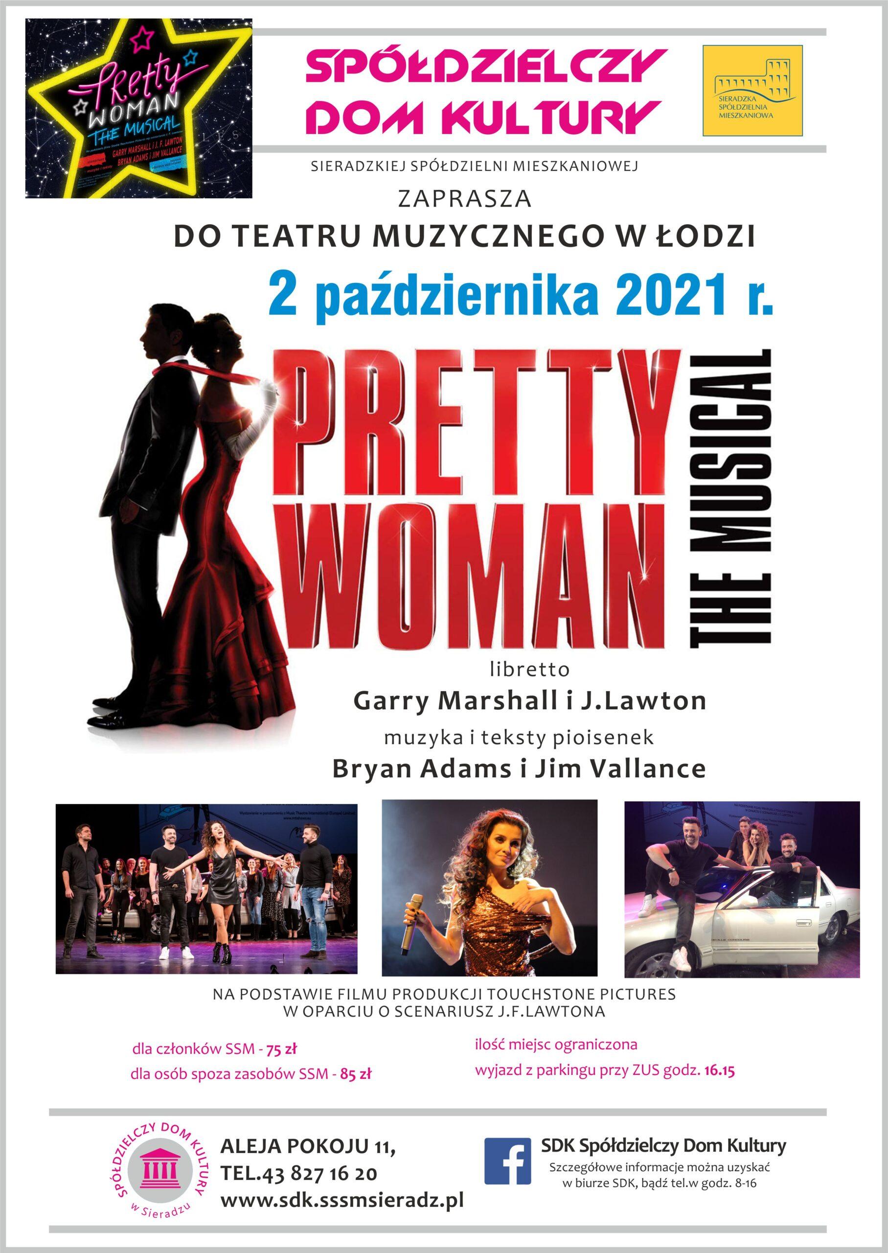 Ogłoszenie SDK – wyjazd do Teatru Muzycznego w Łodzi
