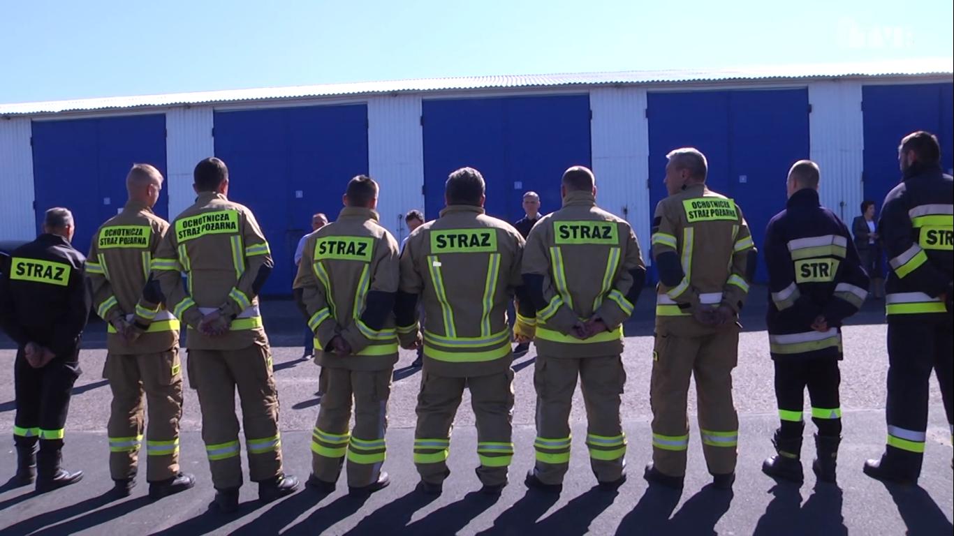 Szkolenia strażaków ochotników