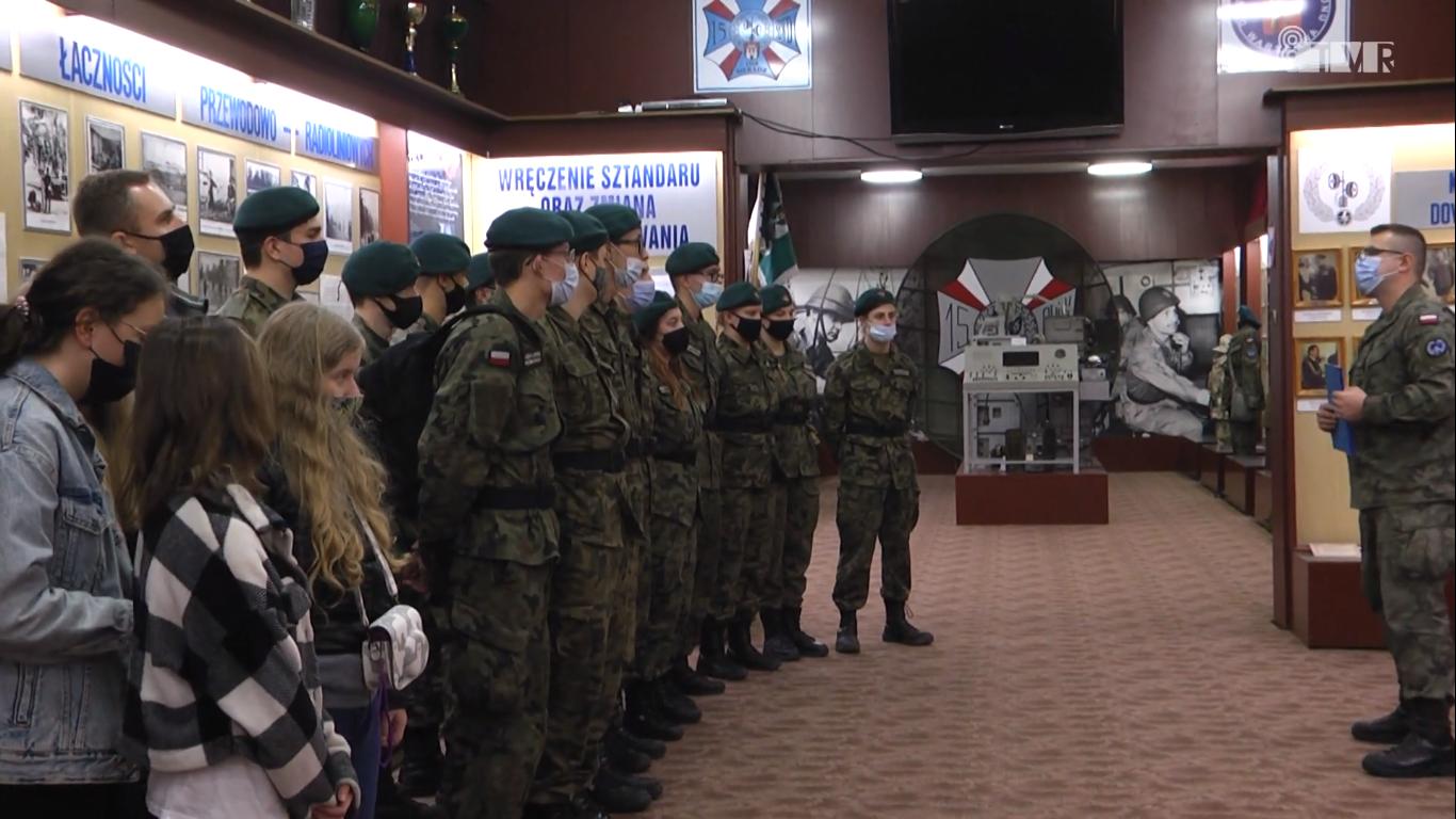 Łódzcy uczniowie w Sieradzu śladami Legionów Polskich