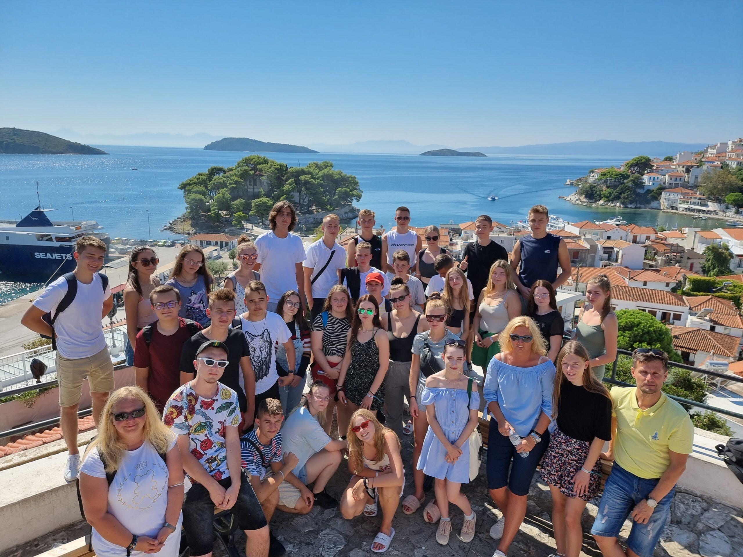 Uczniowie liceum w Błaszkach zwiedzali Grecję